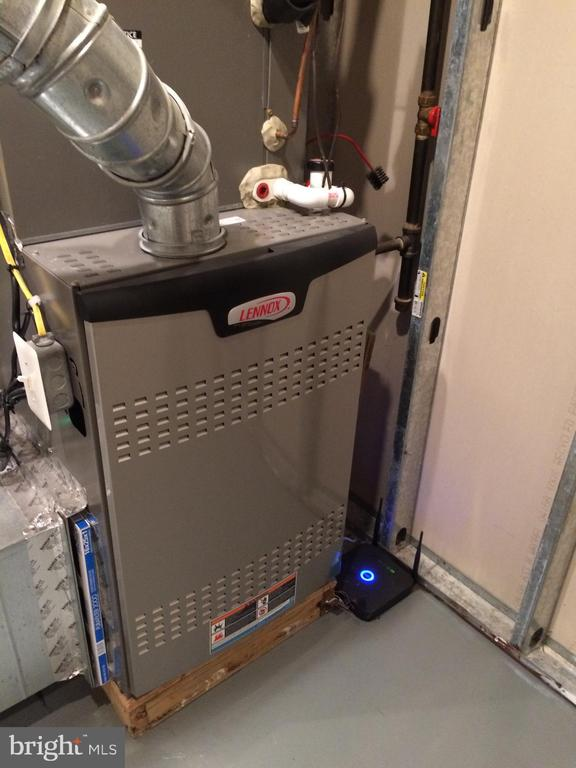 Two new Lennox propane furnaces in 2015 - 12302 HUNGERFORD MANOR CT, MONROVIA