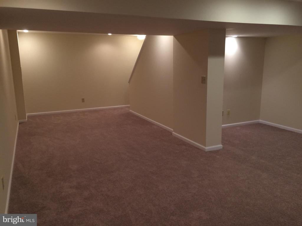 Fully finished basement - 12302 HUNGERFORD MANOR CT, MONROVIA