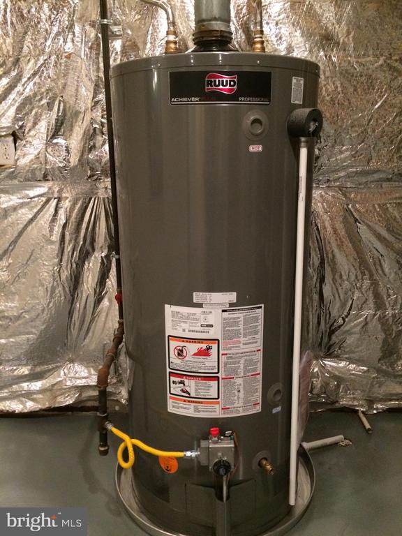 New Ruud 75 gallon propane water heater in 2019 - 12302 HUNGERFORD MANOR CT, MONROVIA