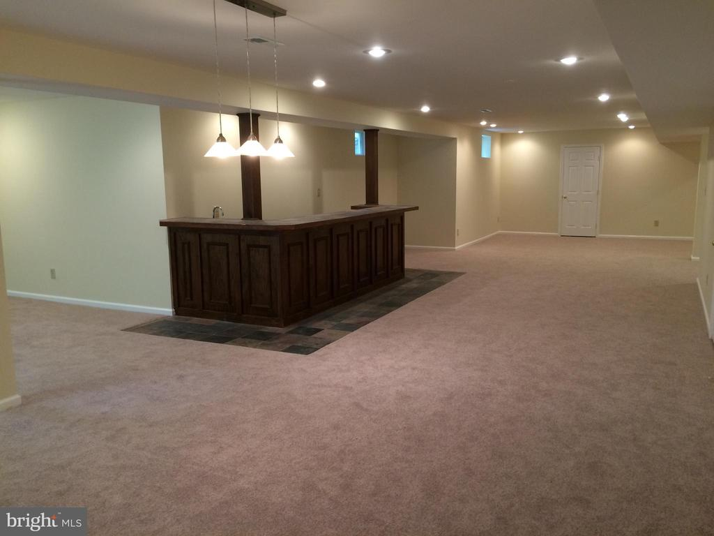 Finished basement - 12302 HUNGERFORD MANOR CT, MONROVIA