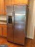 New GE side-by-side refrigerator - 12302 HUNGERFORD MANOR CT, MONROVIA