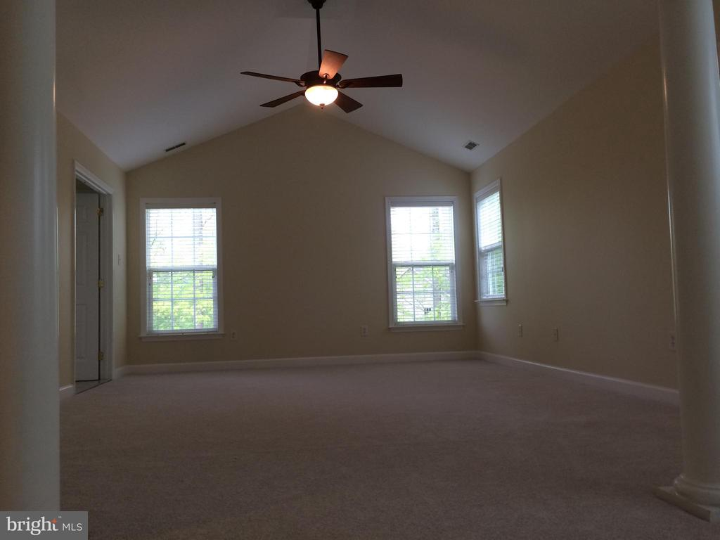 View from sitting room - 12302 HUNGERFORD MANOR CT, MONROVIA