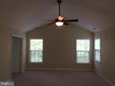 Master bedroom view from sitting room - 12302 HUNGERFORD MANOR CT, MONROVIA