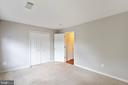 SECOND LARGE BEDROOM - 10732 SYMPHONY WAY #202, COLUMBIA