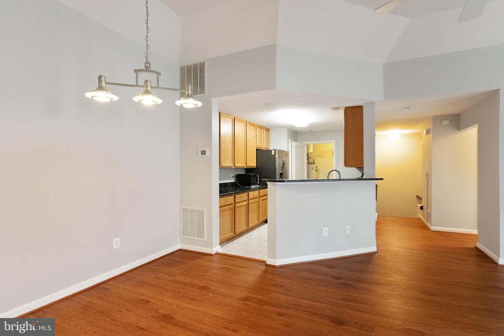 KITCHEN CONNECTED TO YOUR DINING ROOM - 10732 SYMPHONY WAY #202, COLUMBIA