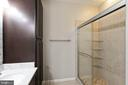 RENOVATED MASTER BATHROOM - 10732 SYMPHONY WAY #202, COLUMBIA