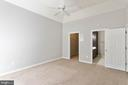 MASTER BEDROOM W/ WALK IN CLOSET - 10732 SYMPHONY WAY #202, COLUMBIA