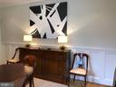 Raised paneling is truly stunning - 104 TUNBRIDGE RD, BALTIMORE