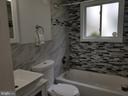 Lower level bathroom - 508 69TH PL, CAPITOL HEIGHTS
