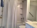 Attached Full Bath - For Secondary Bedroom - 12789 FAIR CREST CT #16-302, FAIRFAX