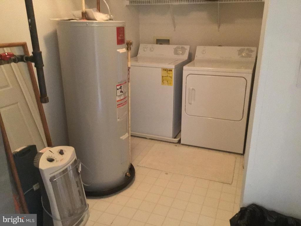 Laundry-Utility Room With Extra Storage Area - 12789 FAIR CREST CT #16-302, FAIRFAX
