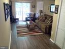 Really nice basement with beautiful flooring - 8401 CEDAR FALLS CT, SPRINGFIELD