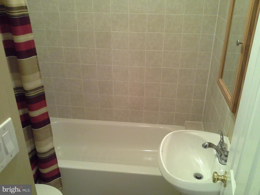 Full bathroom in basement - 8401 CEDAR FALLS CT, SPRINGFIELD