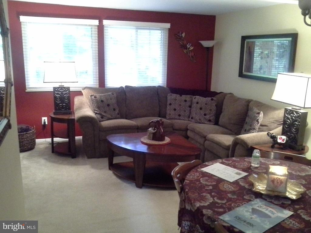 Living room and open floor plan concept - 8401 CEDAR FALLS CT, SPRINGFIELD