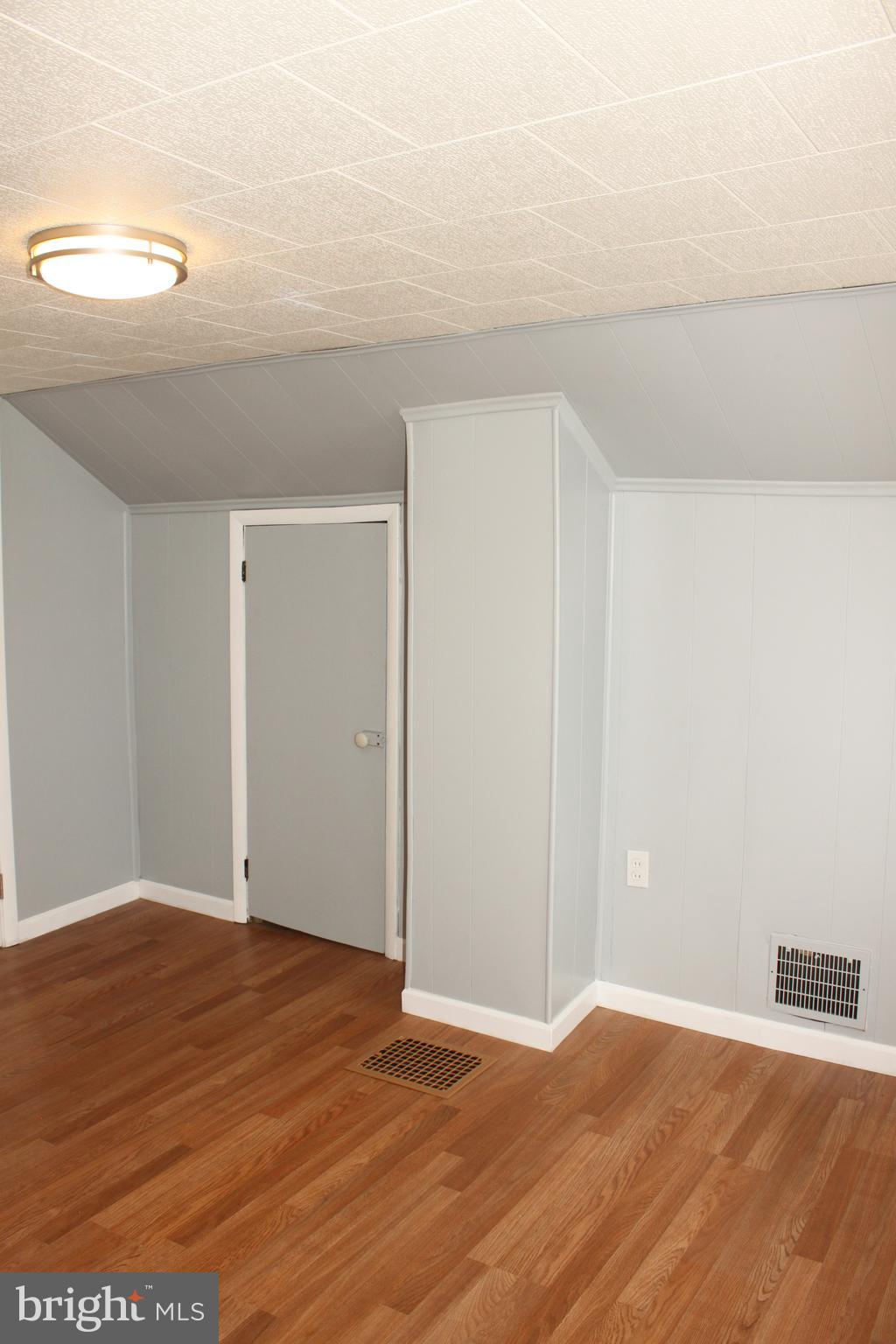 3rd bedroom with extra storage access.