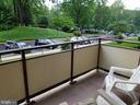 Apartment Balcony - 5225 POOKS HILL RD #207N, BETHESDA