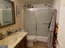 Bathroom-pano - 5225 POOKS HILL RD #207N, BETHESDA