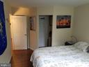 Bedroom inwards - 5225 POOKS HILL RD #207N, BETHESDA