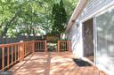 Large Side Deck - 6013 WINDSOR DR, FREDERICKSBURG