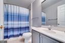 Lower Level Full Bath - 42773 CENTER ST, CHANTILLY