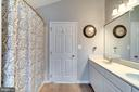 Master Bath With Double Vanity - 42773 CENTER ST, CHANTILLY