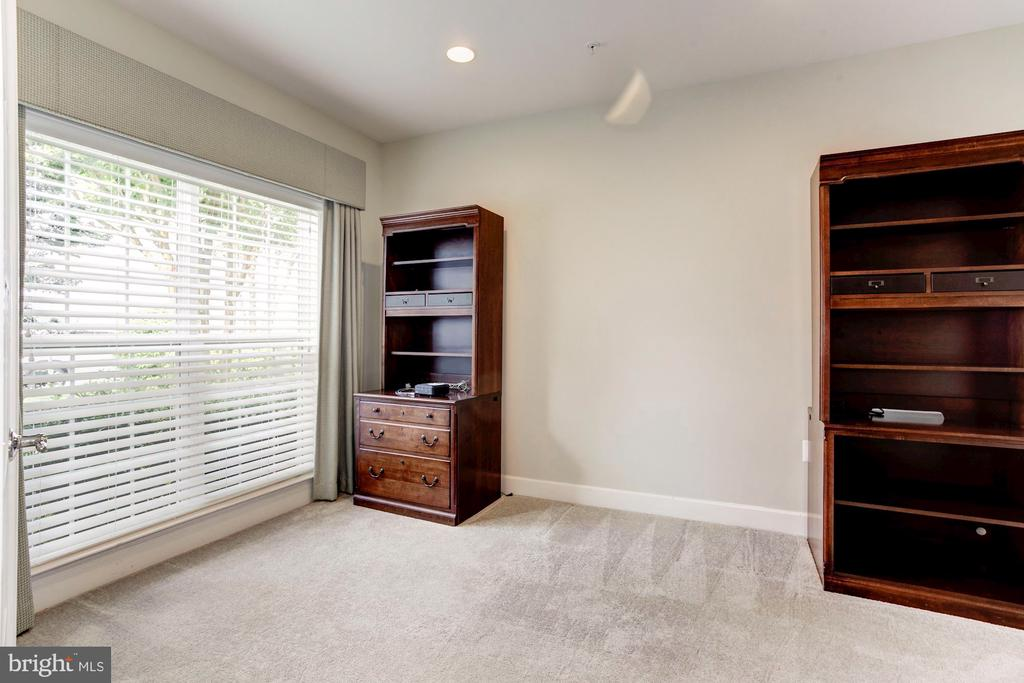 Office on Main level with 2 Mahogany Bookcases. - 275 LONG POINT DR, FREDERICKSBURG