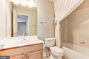 Third Full Bath Upstairs. - 275 LONG POINT DR, FREDERICKSBURG