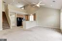 Open/Airy Main Level. - 275 LONG POINT DR, FREDERICKSBURG