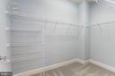 Master Bedroom closet. - 275 LONG POINT DR, FREDERICKSBURG