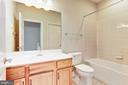 Secondary bath on the Main Level. - 275 LONG POINT DR, FREDERICKSBURG