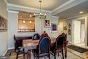 Dining Room - 3600 S GLEBE RD #318W, ARLINGTON
