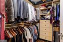 Master Bedroom Walk-in Closet - 3600 S GLEBE RD #318W, ARLINGTON