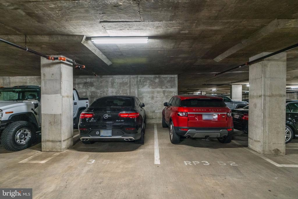 2 Side by Side  Reserved Parking Spaces - 3600 S GLEBE RD #318W, ARLINGTON