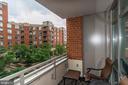 Covered Balcony - 3600 S GLEBE RD #318W, ARLINGTON
