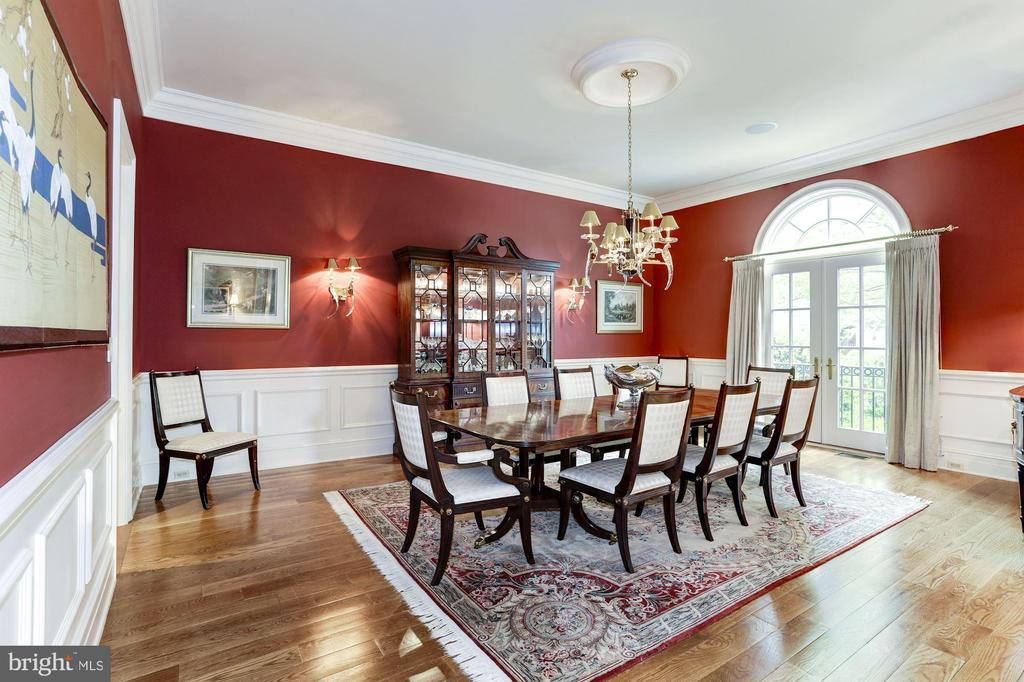 Dining Room - 8317 WOODLEA MILL RD, MCLEAN
