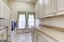Laundry Room - 8317 WOODLEA MILL RD, MCLEAN