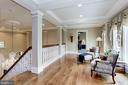 Upper Level Terrace - 8317 WOODLEA MILL RD, MCLEAN