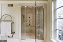 Master Bath - 8317 WOODLEA MILL RD, MCLEAN