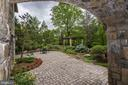 Patio - 8317 WOODLEA MILL RD, MCLEAN