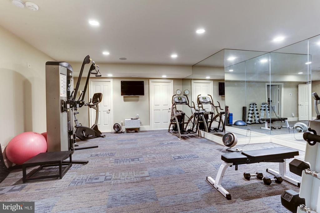 Fitness Room - 8317 WOODLEA MILL RD, MCLEAN
