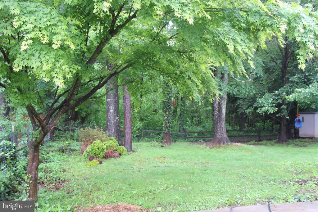 PRIVATE LARGE BACKYARD - 108 HOPELAND LN, STERLING