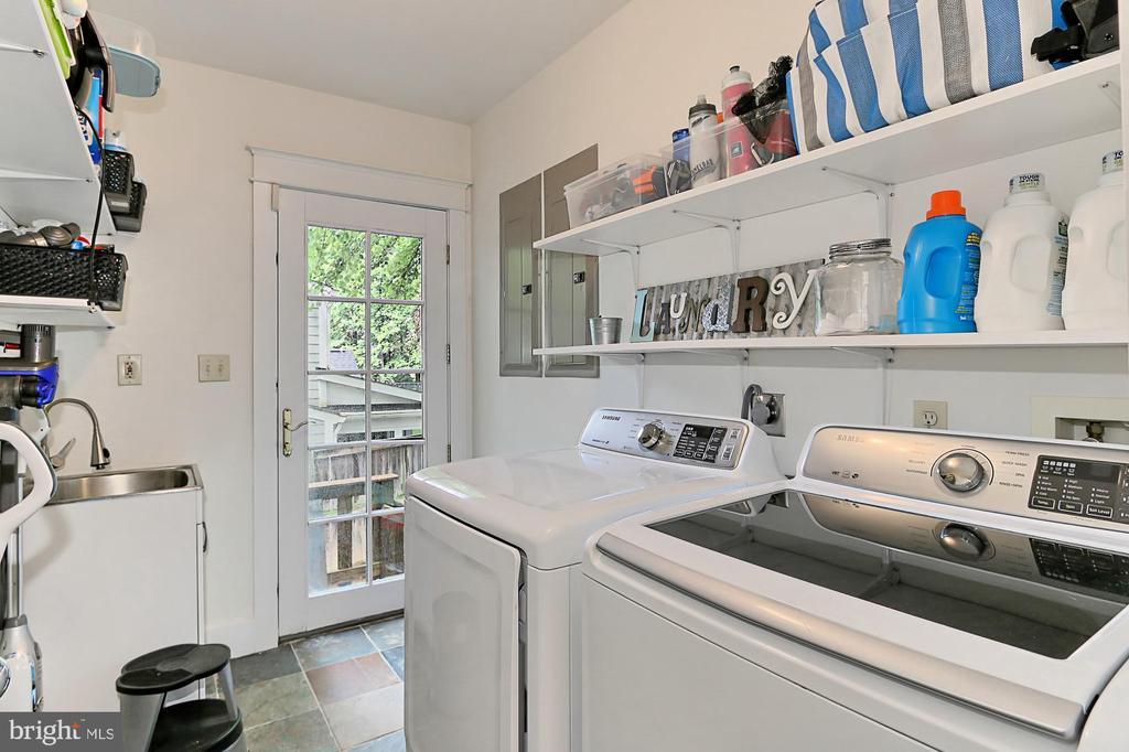 Laundry Room - 7730 VIRGINIA LN, FALLS CHURCH