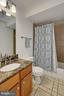 Full Bath in Lower Level - 7730 VIRGINIA LN, FALLS CHURCH