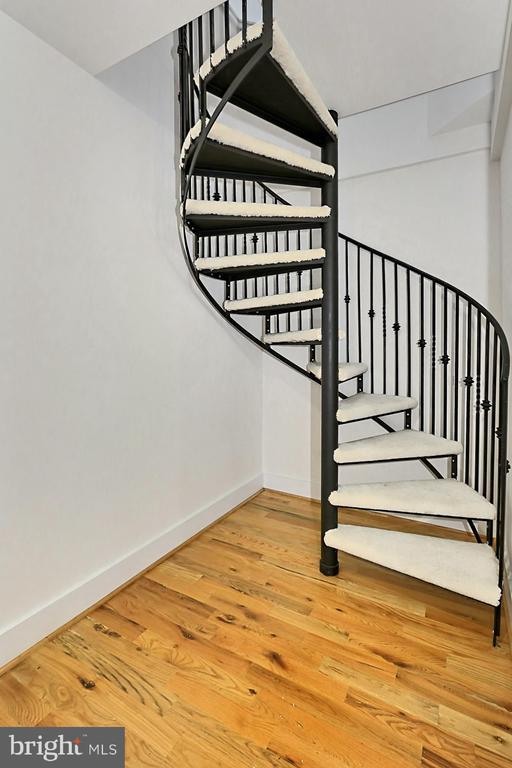 Stairs to Loft - 7730 VIRGINIA LN, FALLS CHURCH