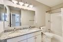 New granite vanity, fixtures, tub and tile - 43114 WATERCREST SQ #205, CHANTILLY