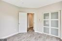 2nd bedroom with loads of natural light - 43114 WATERCREST SQ #205, CHANTILLY