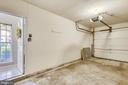 Attached garage with interior access & remote - 43114 WATERCREST SQ #205, CHANTILLY