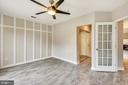 French doors to  main living area - 43114 WATERCREST SQ #205, CHANTILLY