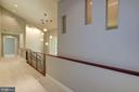 Upper Level - Hallway open to Foyer - 11677 DANVILLE DR, ROCKVILLE
