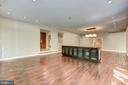 Main Level - Family Room - 11677 DANVILLE DR, ROCKVILLE